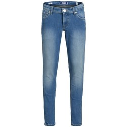 Textiel Jongens Skinny jeans Jack & Jones Jeans enfant  Liam Original blue denim