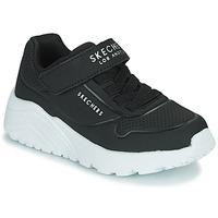 Schoenen Kinderen Lage sneakers Skechers UNO LITE Zwart