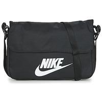 Tassen Schoudertassen met riem Nike NIKE SPORTSWEAR Zwart / Wit