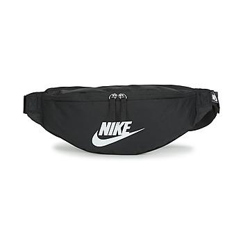 Tassen Heuptassen Nike NK HERITAGE WAISTPACK - FA22 Zwart / Wit