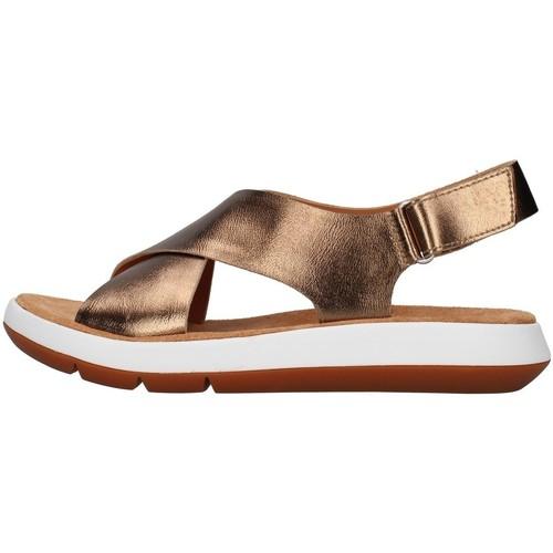 Schoenen Dames Sandalen / Open schoenen Clarks JEMSA CROSS SILVER