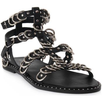 Schoenen Dames Sandalen / Open schoenen Mosaic 3010 VITELLO NERO Nero