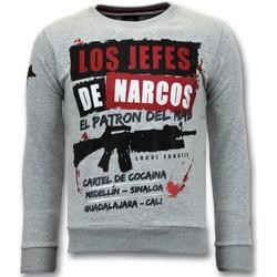Textiel Heren Sweaters / Sweatshirts Lf Los Jefes De Narcos Grijs