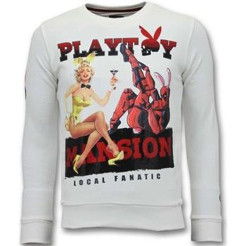 Textiel Heren Sweaters / Sweatshirts Lf The Playtoy Mansion Wit