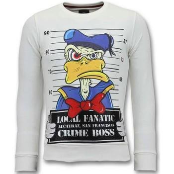 Textiel Heren Sweaters / Sweatshirts Lf Alcatraz Prisoner Wit
