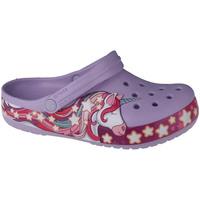 Schoenen Kinderen Klompen Crocs Fun Lab Unicorn Band Clog Violet