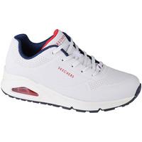 Schoenen Dames Lage sneakers Skechers Uno-Stand on Air Blanc