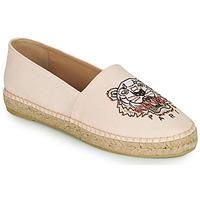 Schoenen Dames Espadrilles Kenzo ESPADRILLES CLASSIC TIGER Roze / Nude