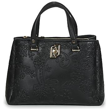 Tassen Dames Handtassen lang hengsel Liu Jo PIACENTE M SATCHEL Zwart