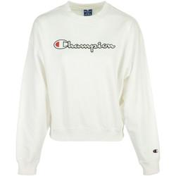 Textiel Dames Sweaters / Sweatshirts Champion Crewneck Sweatshirt Wit