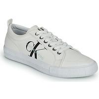 Schoenen Dames Lage sneakers Calvin Klein Jeans VULCANIZED LACEUP SNEAKER Wit