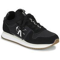 Schoenen Dames Lage sneakers Calvin Klein Jeans RUNNER LACEUP Zwart