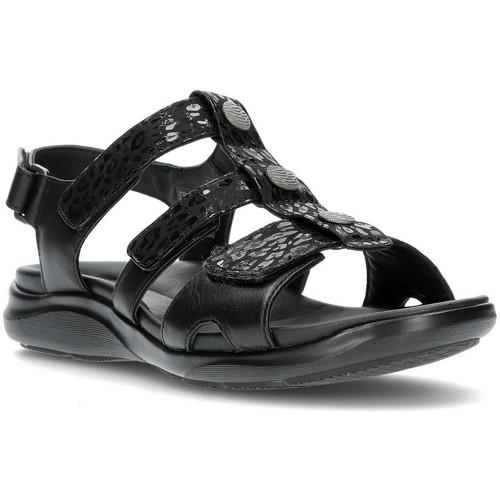 Schoenen Dames Sandalen / Open schoenen Clarks KYLYN STEP SANDALEN ZWART