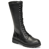 Schoenen Dames Hoge laarzen Pataugas MARY Zwart