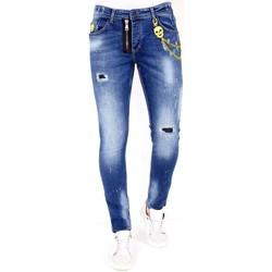 Textiel Heren Skinny jeans Lf Jeans Stretch Blauw