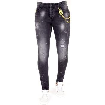Textiel Heren Skinny jeans Lf E Jeans Zwart