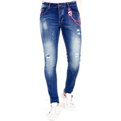 Textiel Heren Skinny jeans Lf Spijkerbroek Stretch Blauw