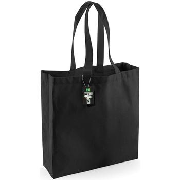 Tassen Tote tassen / Boodschappentassen Westford Mill W623 Zwart
