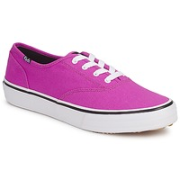 Schoenen Dames Lage sneakers Keds DOUBLE DUTCH SEASONAL SOLIDS Roze