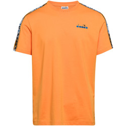 Textiel Heren T-shirts korte mouwen Diadora 502176085 Oranje
