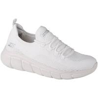 Schoenen Dames Lage sneakers Skechers Bobs Sport B Flex-Color Connect Blanc