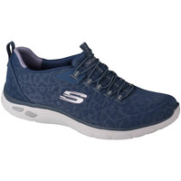 Schoenen Dames Lage sneakers Skechers Empire D'Lux Spotted Bleu