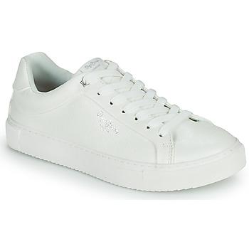 Schoenen Dames Lage sneakers Pepe jeans ADAMS COLLINS Wit
