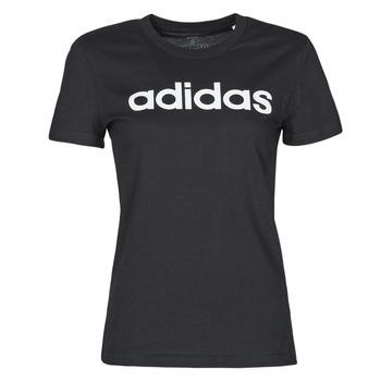 Textiel Dames T-shirts korte mouwen adidas Performance WELINT Zwart
