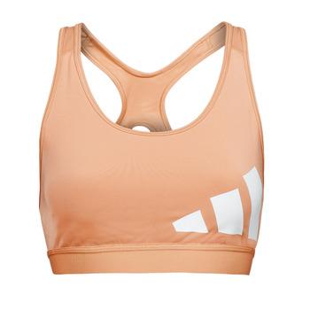 Textiel Dames Sport BH's adidas Performance BETEBAR Blush / Milieu