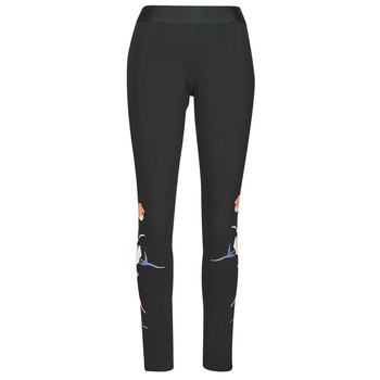 Textiel Dames Leggings adidas Performance FLORL GFX TIGHT Zwart