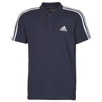 Textiel Heren Polo's korte mouwen adidas Performance M 3S PQ PS Inkt / Légende