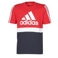 Textiel Heren T-shirts korte mouwen adidas Performance M CB T Ecarlate