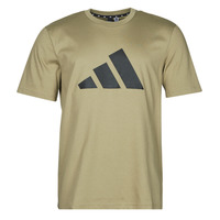 Textiel Heren T-shirts korte mouwen adidas Performance M FI 3B TEE Groen / Orbite
