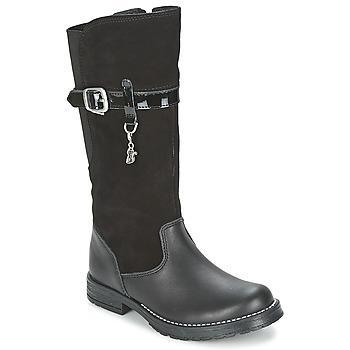 Schoenen Meisjes Hoge laarzen Start Rite AQUA-FELINE Zwart