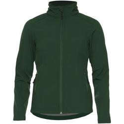 Textiel Dames Jacks / Blazers Gildan SS800L Bosgroen