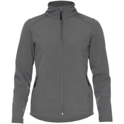 Textiel Dames Jacks / Blazers Gildan SS800L Houtskool