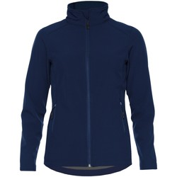 Textiel Dames Jacks / Blazers Gildan SS800L Marine