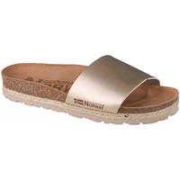 Schoenen Dames Leren slippers Geographical Norway Sandalias Baja Verano Or