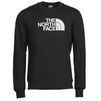 Textiel Heren Sweaters / Sweatshirts The North Face DREW PEAK CREW Zwart / Wit