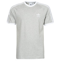 Textiel Heren T-shirts korte mouwen adidas Originals 3-STRIPES TEE Bruyère / Grijs