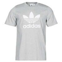Textiel Heren T-shirts korte mouwen adidas Originals TREFOIL T-SHIRT Bruyère / Grijs