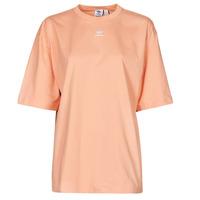 Textiel Dames T-shirts korte mouwen adidas Originals TEE Blush / Milieu