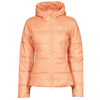 Textiel Dames Dons gevoerde jassen adidas Originals SLIM JACKET Roze