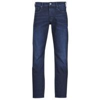 Textiel Heren Straight jeans G-Star Raw 3301 STRAIGHT Blauw