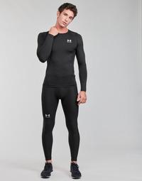 Textiel Heren Leggings Under Armour UA HG ARMOUR LEGGINGS Zwart / Wit