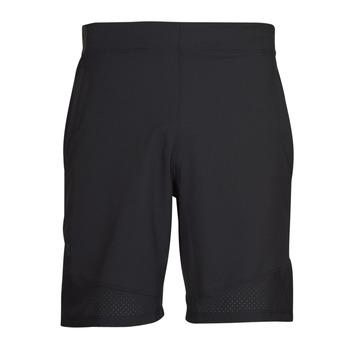 Textiel Heren Korte broeken / Bermuda's Under Armour UA VANISH WOVEN SHORTS Zwart / Grijs