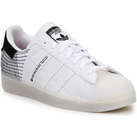 Schoenen Heren Lage sneakers adidas Originals Lifestyle Shoes Adidas Superstar Primeblue G58198 white, black