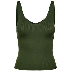 Textiel Dames Mouwloze tops Jacqueline De Yong  Groen