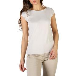 Textiel Dames T-shirts korte mouwen Fontana - P1992 Grijs