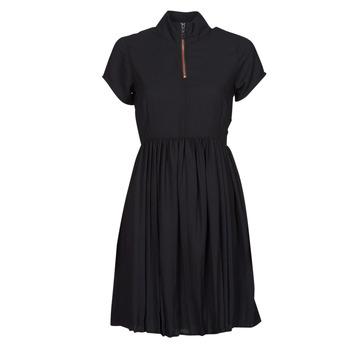 Textiel Dames Korte jurken Volcom DOTSABILLY DRESS Zwart